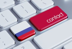 Russia Contact Concept